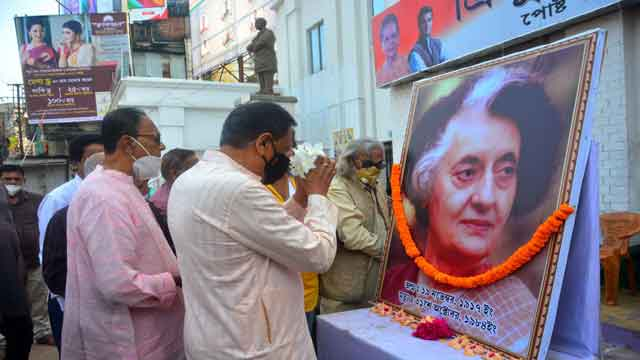 Tripura Congress Activist observed Birth Anniversary on November 19, 2020 of Late Prime Minister Indira Gandhi