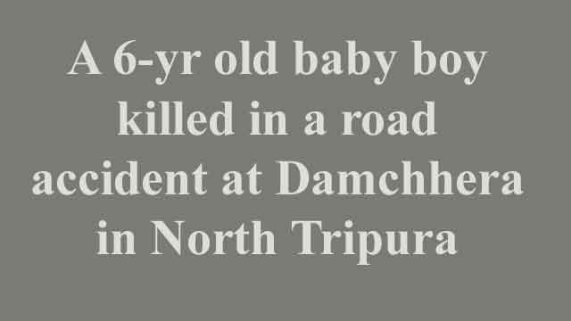 News Headline Jan 04, 2021: Road rage kills a 6-yr boy Jeremi Halam in North Tripura